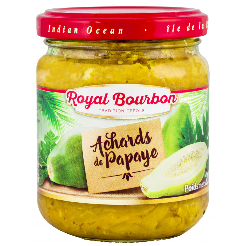 Achards de Papaye