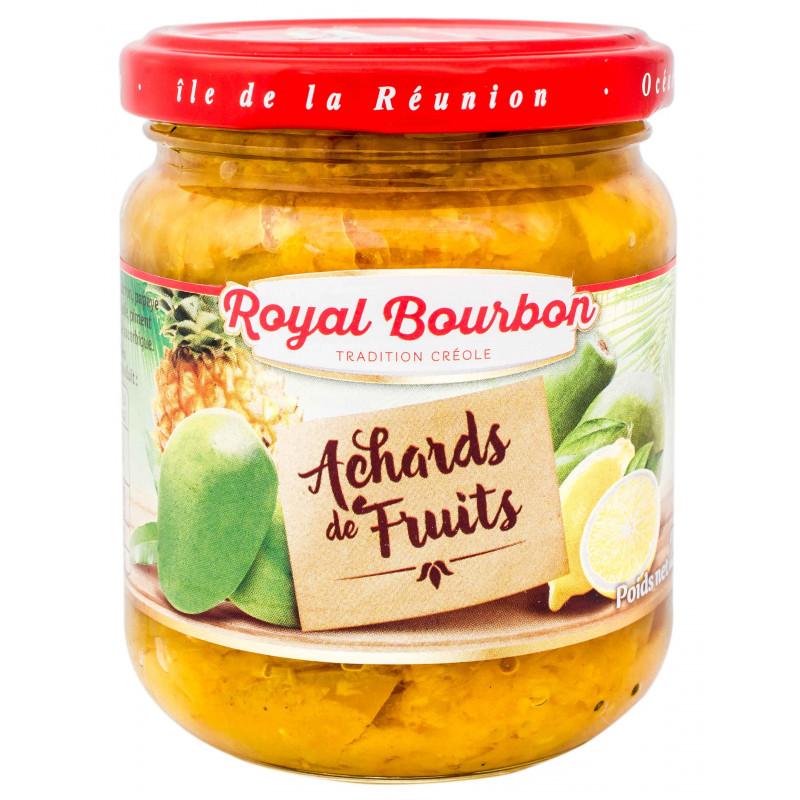 Achards de fruits mélangés