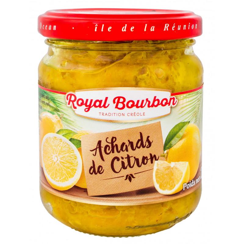 Achards de citron