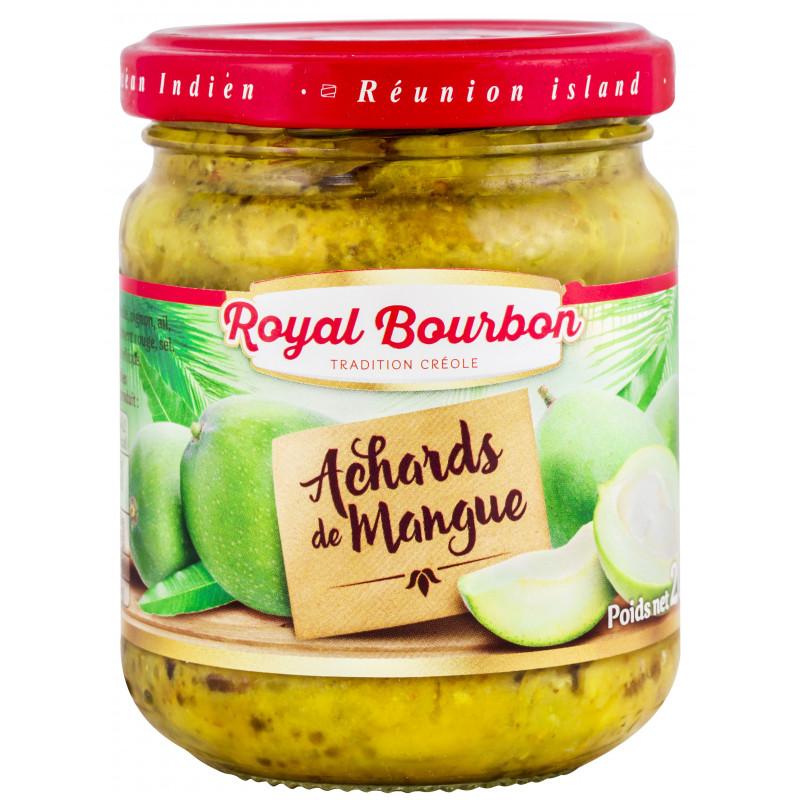 Achards de mangue