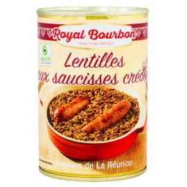Lentilles aux saucisses...