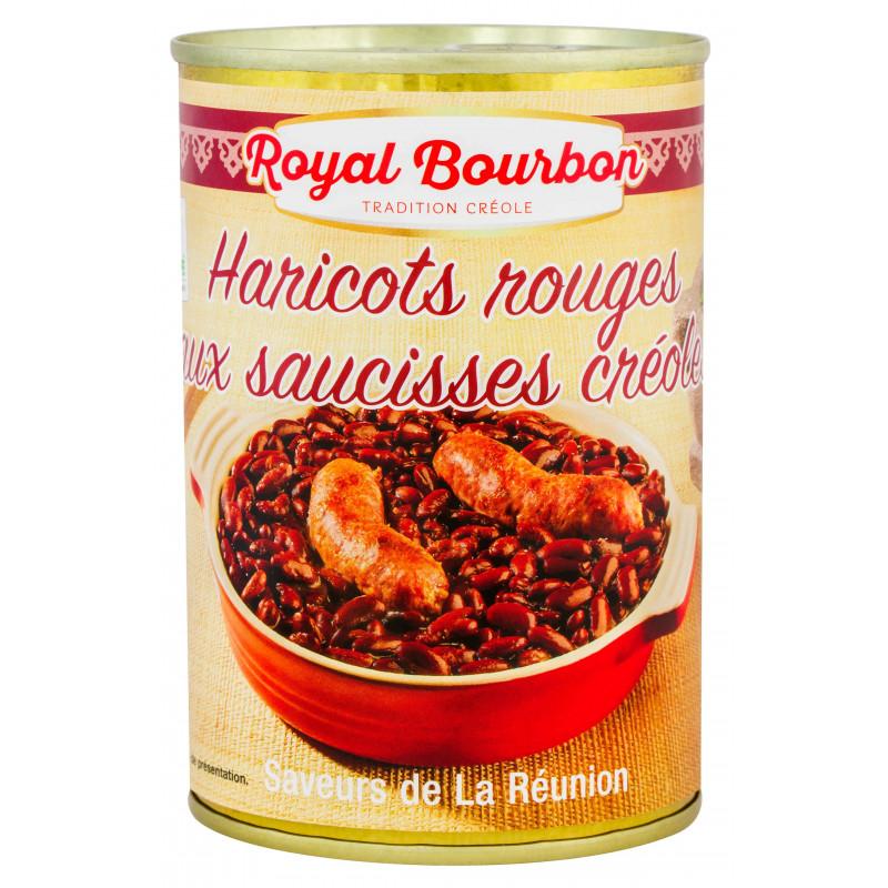 Haricots rouges aux saucisses créoles 420g