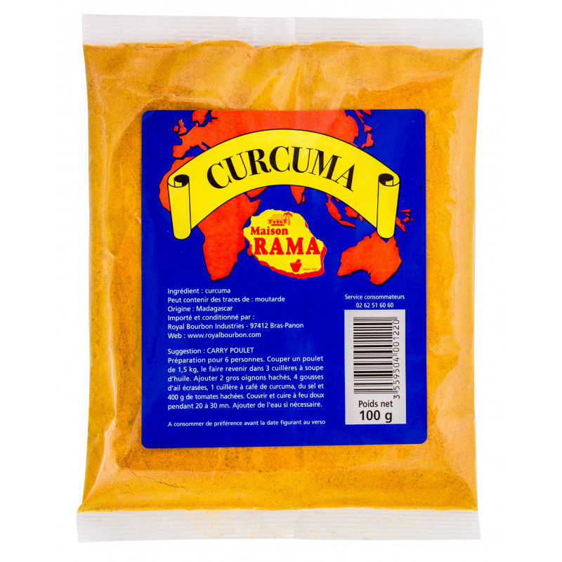 Curcuma sachet