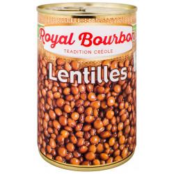 Lentilles naturels 400g